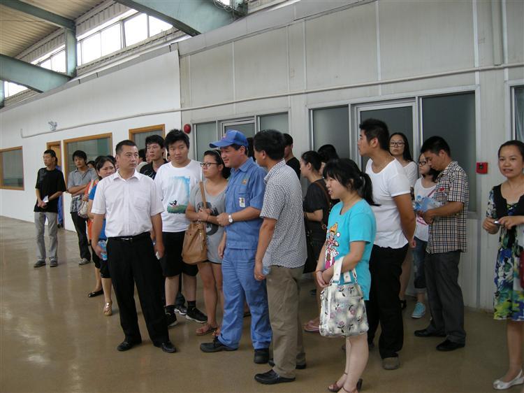 """人保局举行""""启航计划:系列活动之失业青年参观"""