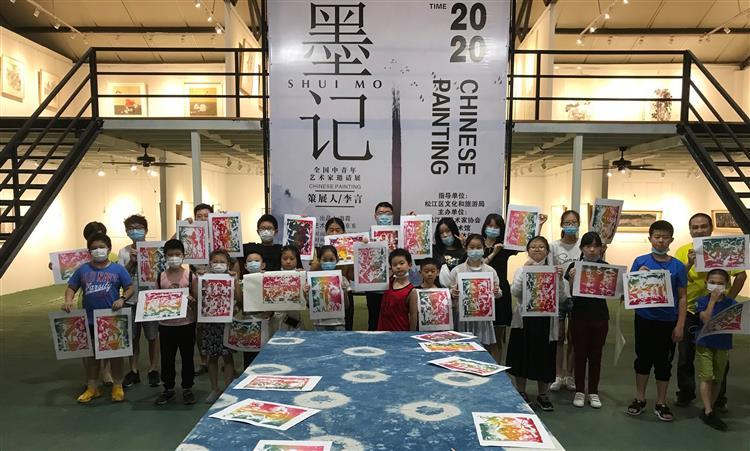 泗泾镇青年中心公益课程之版画初体验