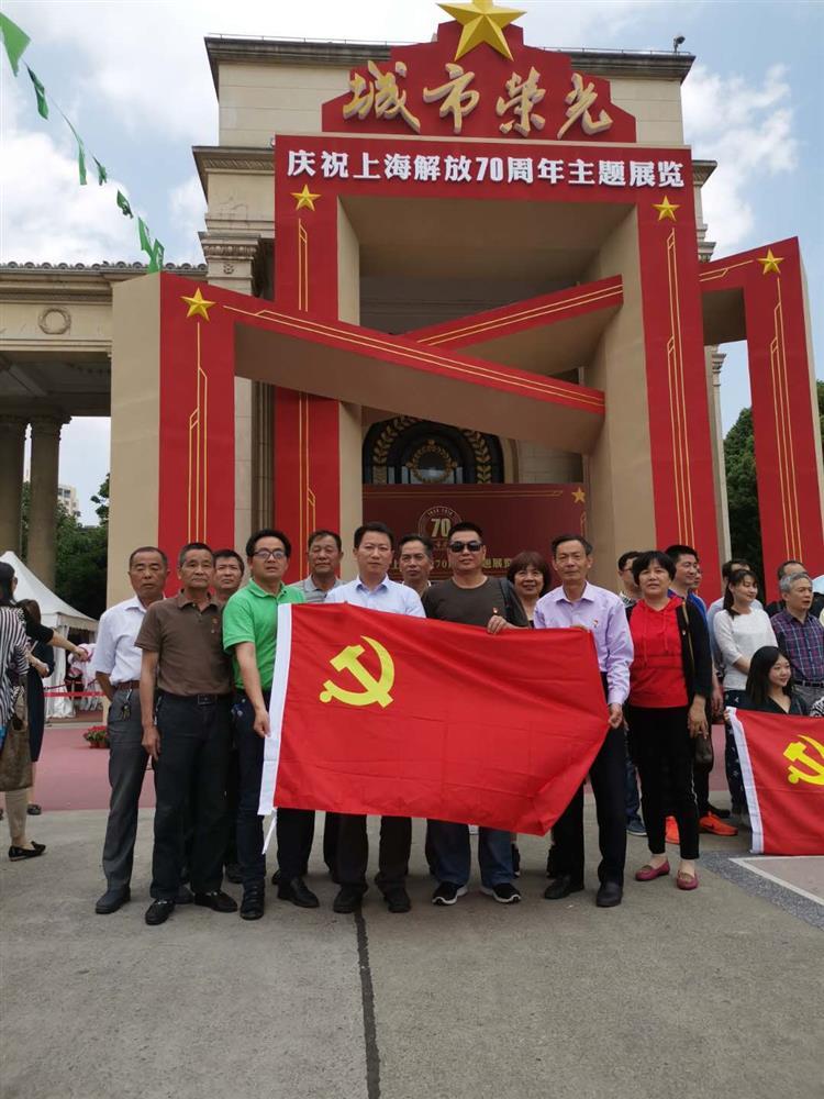 """农投公司团支部跟随党的步伐开展""""七一""""活动信息"""