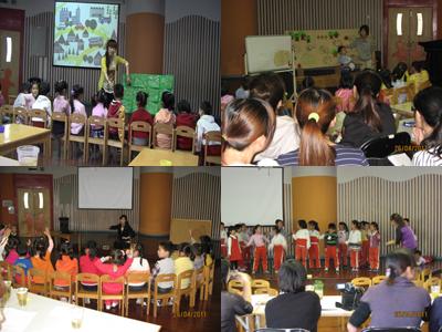 历练——记泗泾幼儿园团支部和新凯幼儿园